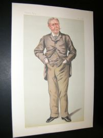 Vanity Fair Print 1882 Henry Montague Hozier, Military